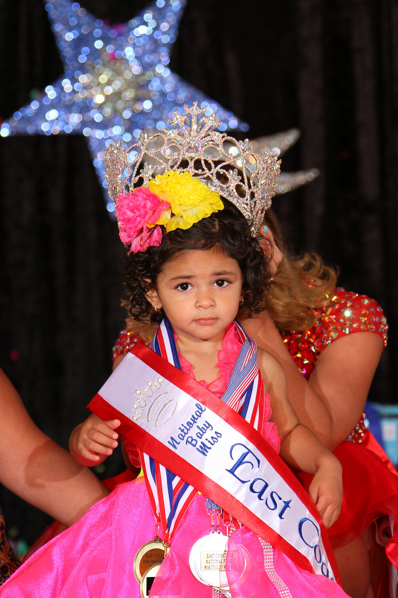 Baby Miss East Coast USA Arionnie Rodriguez