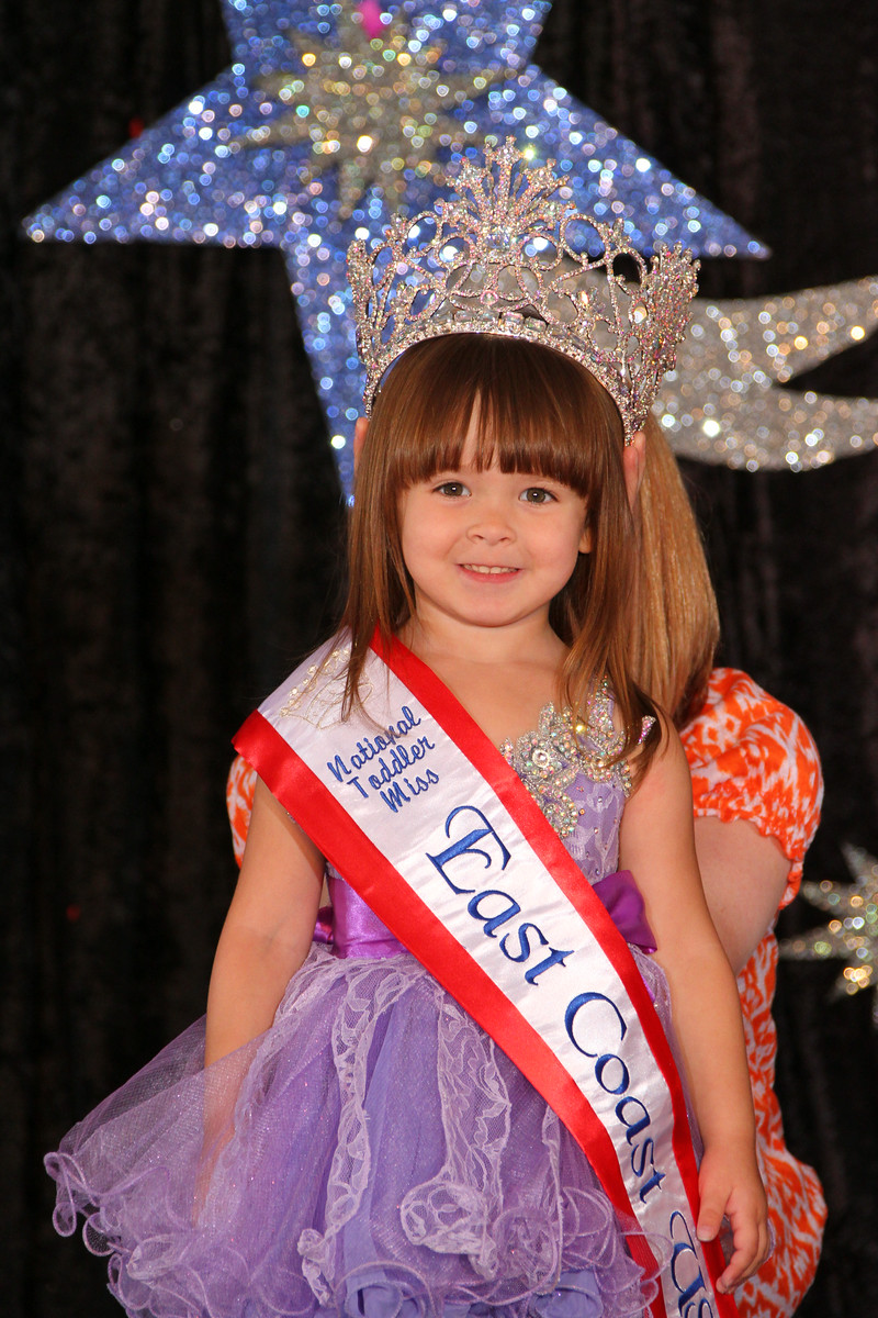 Toddler Miss East Coast USA Journey Stallings