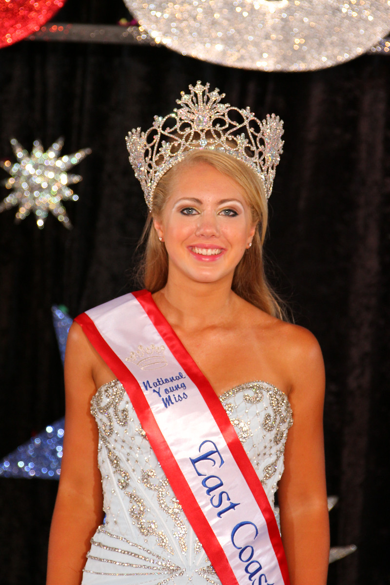 Young Miss East Coast USA Hallie Jacobs