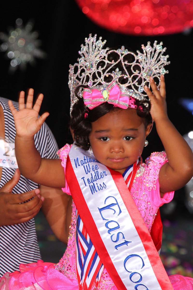 Wee Toddler Miss Glitz East Coast USA: Alexandra Taylor