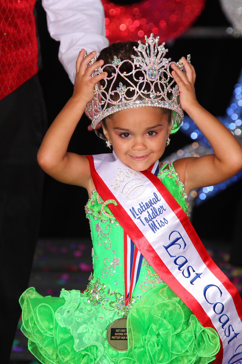Toddler Miss Glitz East Coast USA: Leyla Dixon