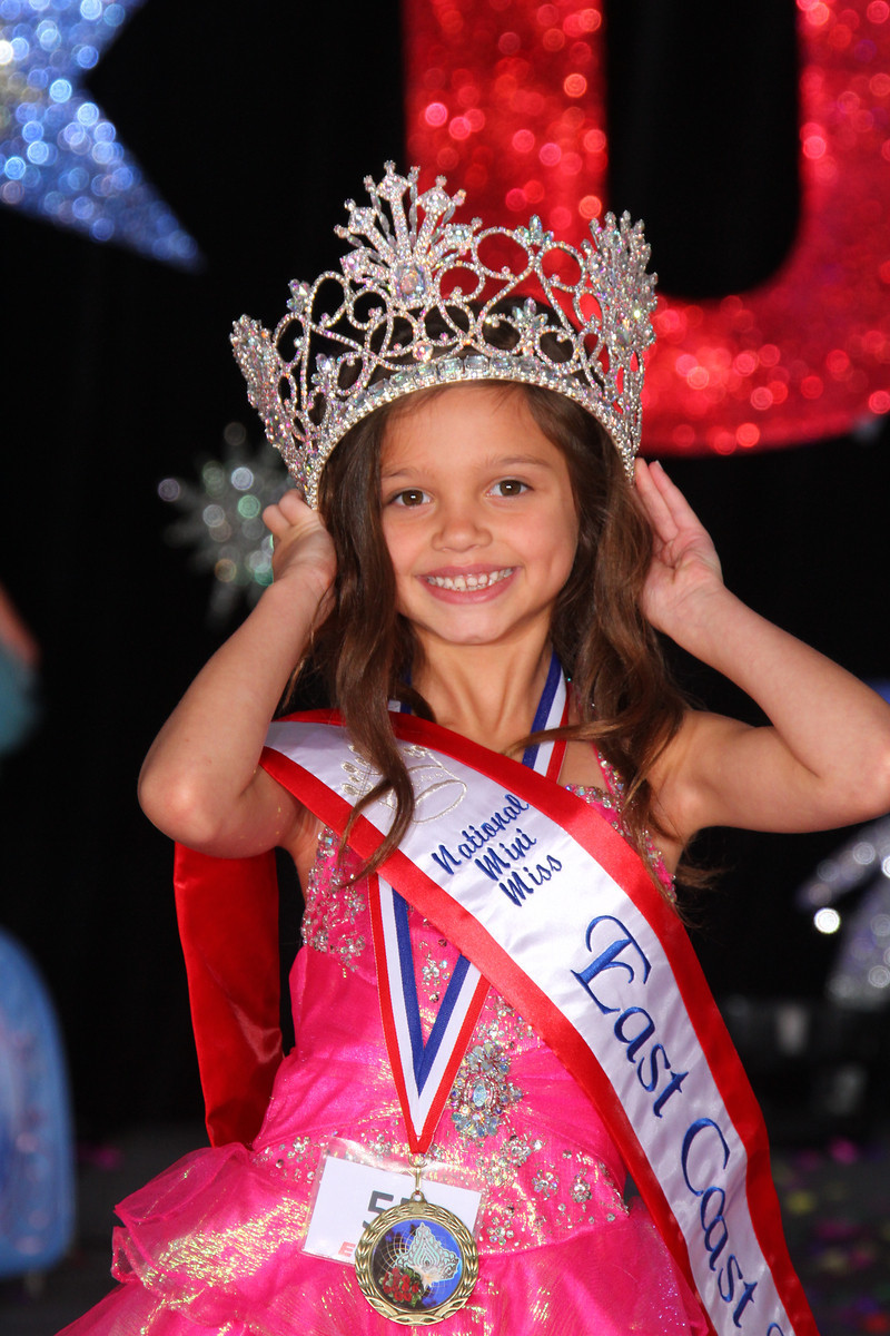Mini Miss Natural East Coast USA: Marjana Wilson