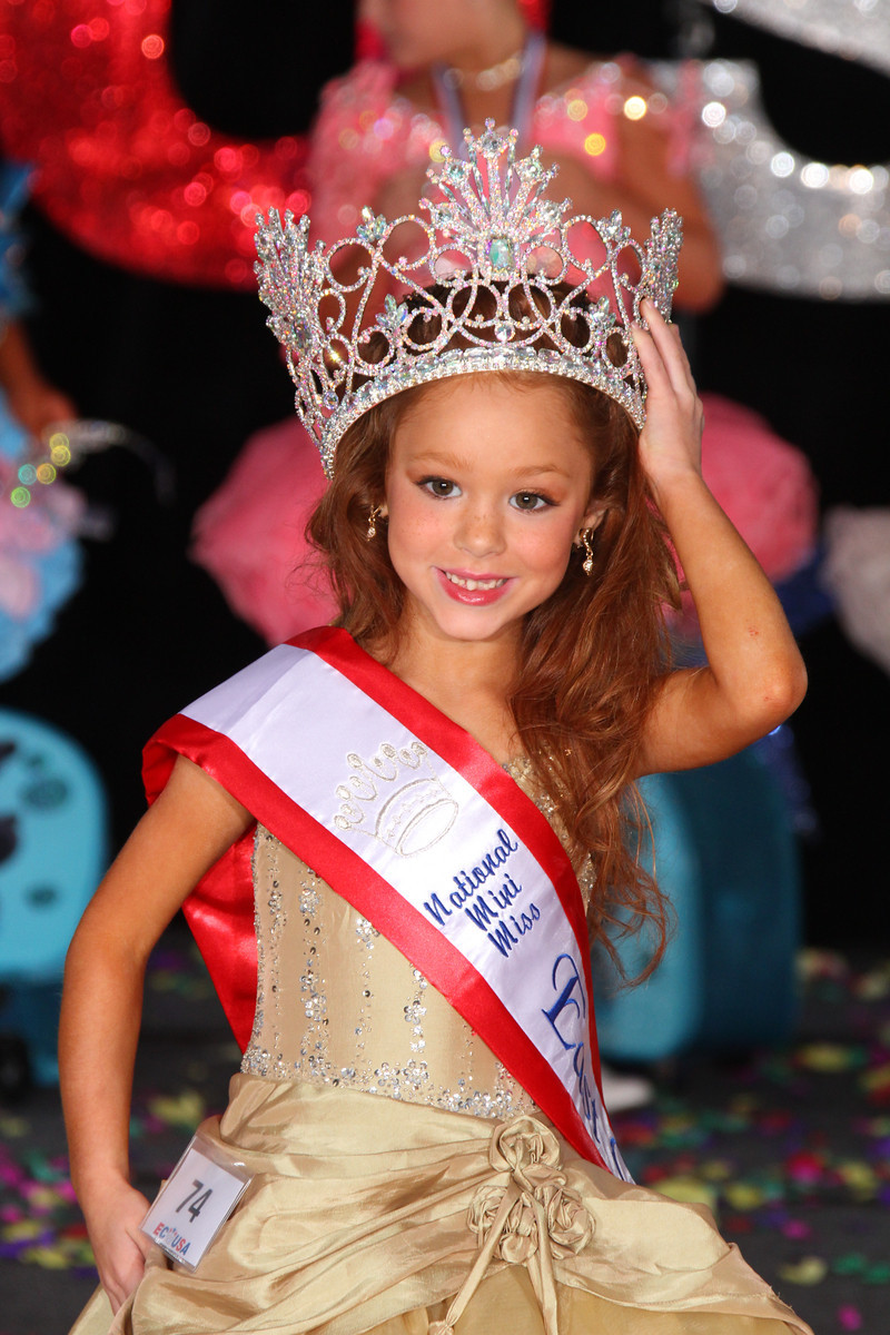 Mini Miss Glitz East Coast USA: Alicia Fetty