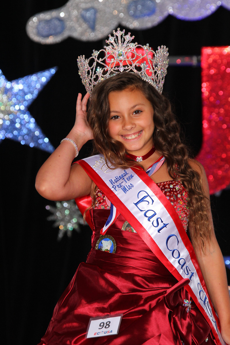Pre-Teen Miss Natural East Coast USA: Danielle Brooks