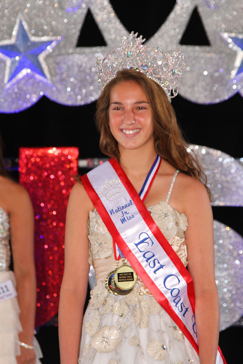 Jr. Miss Natural East Coast USA: Katie Sour