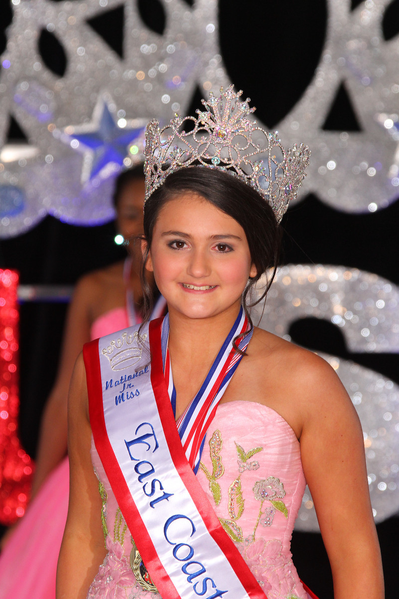 Jr. Miss Glitz East Coast USA: Amanda DeCrescito