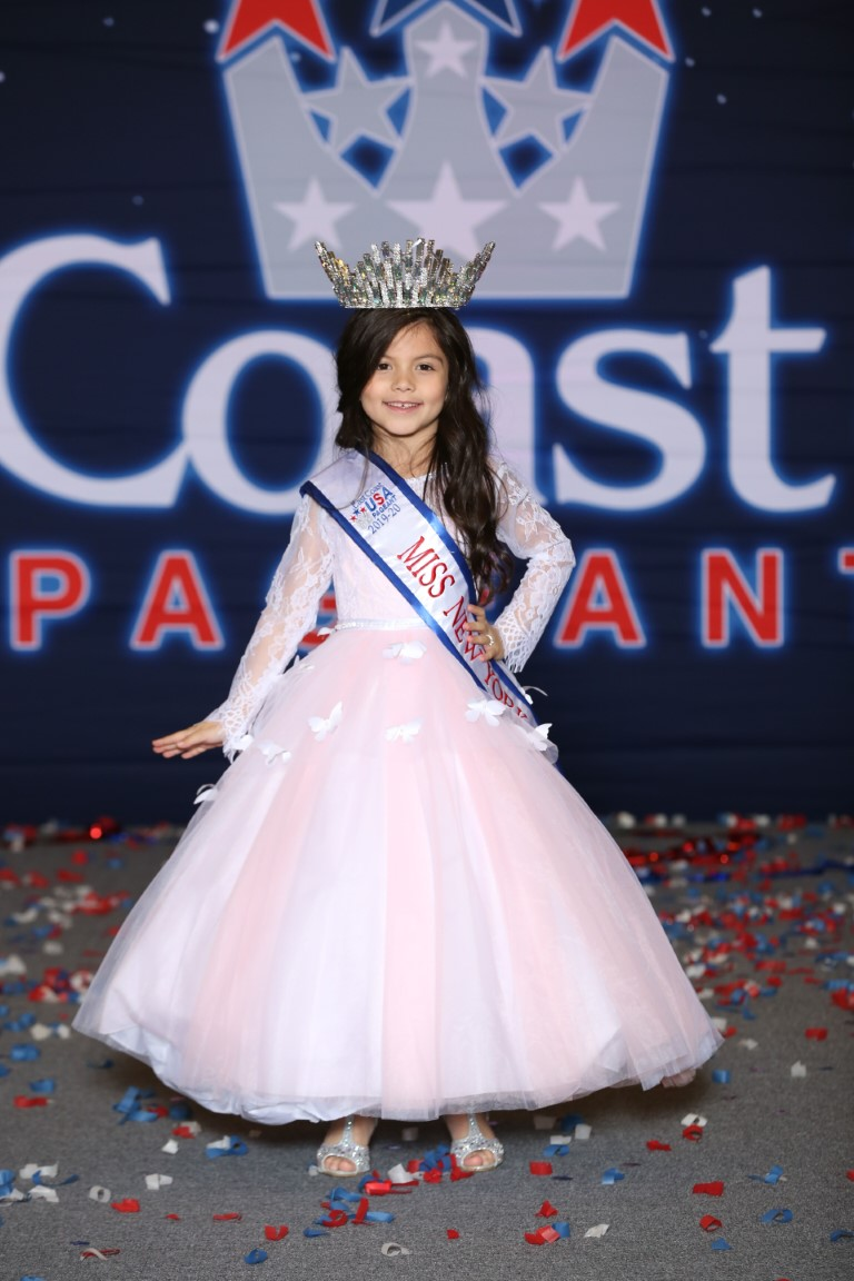Jr. Miss Petite New York East Coast USA Isabella Aguilar