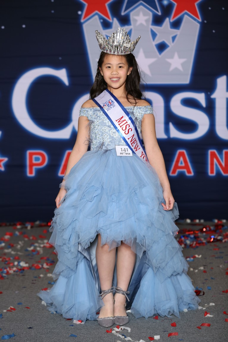 Pre-Teen Miss New York East Coast USA Melody Cianyu Chien