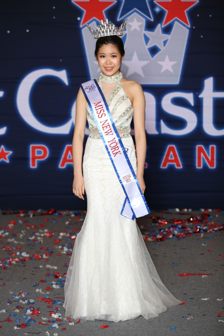 Young Miss New York East Coast USA Emily Lin